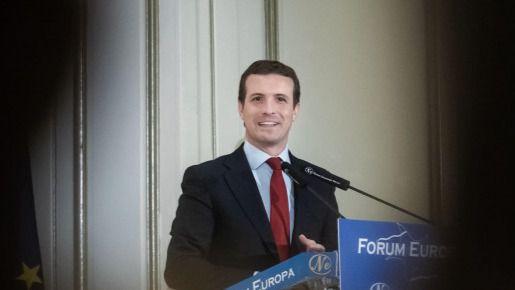 Casado define al PP como garantía de la fortaleza de España en la UE