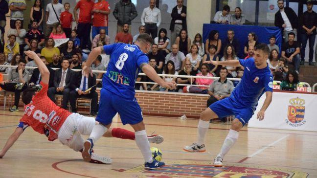 Reparto de puntos en el estreno del Ciudad de Móstoles FS en su feudo de Villafontana