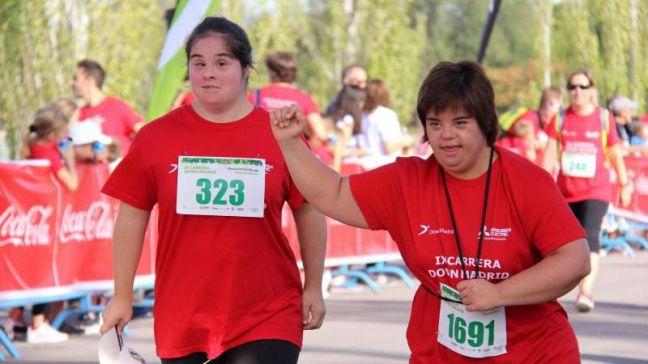 Casi 5.000 personas corren por la inclusión en la cita solidaria de Down Madrid