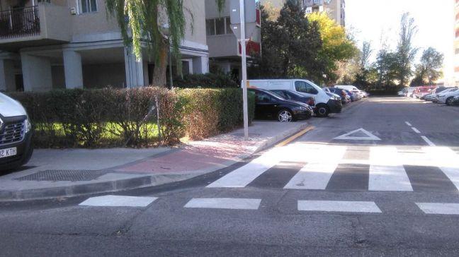 Móstoles reforma los pasos de peatones para mejorar la seguridad vial y la accesibilidad en la ciudad