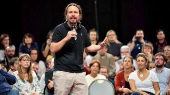 Iglesias declara su 'orgullo' por compartir ideas con la militancia del PSOE