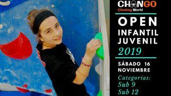 Abierto el periodo de inscripción para participar en el Open de Escalada Infantil y Juvenil del C.D. Chango Cimbing World