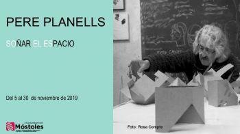 El Centro Sociocultural Norte-Universidad acoge la exposición 'Soñar el espacio', de Pere Planells