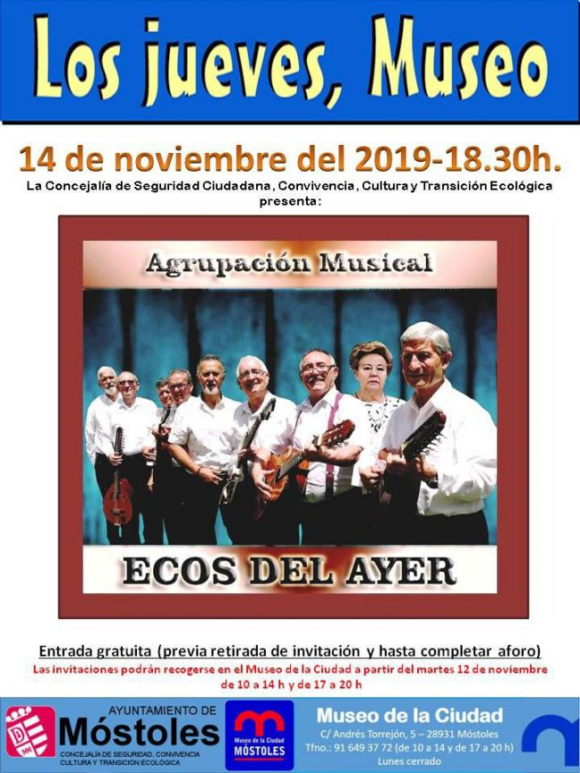 Agenda cultural de la semana del 11 al 17 de noviembre