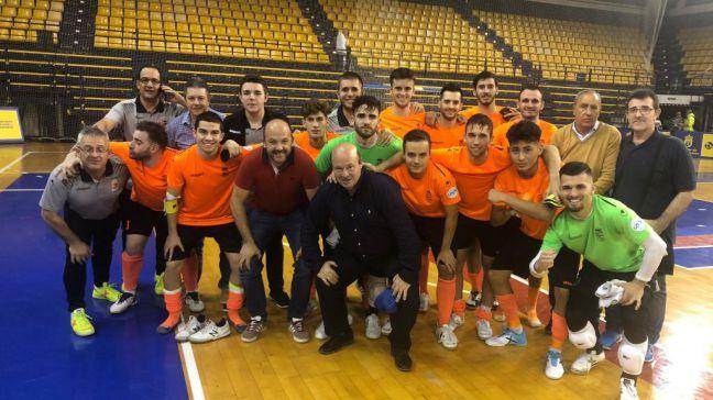 El Ciudad de Móstoles supera la primera eliminatoria de la Copa del Rey de Fútbol Sala