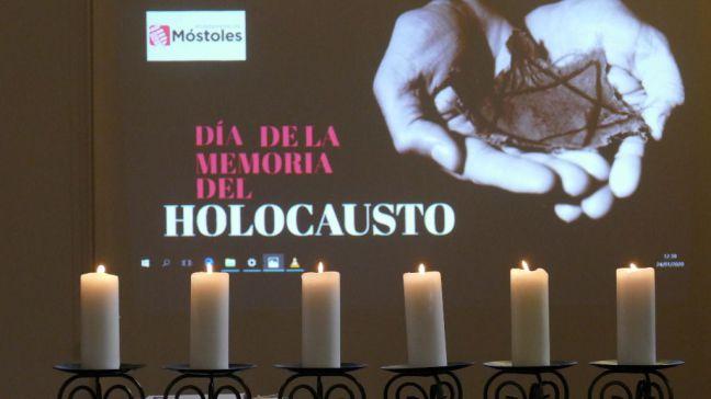 Sentido homenaje en Móstoles a las víctimas del Holocausto