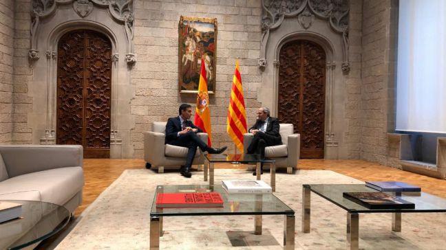 Sánchez ofrece a Torra la mesa y estudiar sus propuestas tributarias e incluir en la Ley la escuela catalana