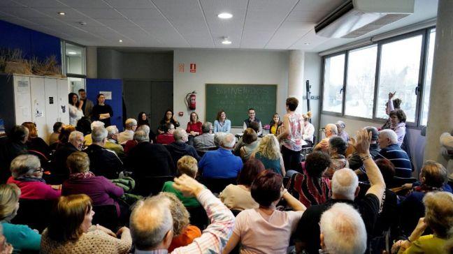 Asamblea Vecinal Abierta en el barrio de La Princesa