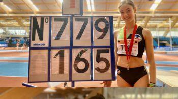 La atleta mostoleña Helena Del Moral se proclama Campeona de Madrid en salto de altura