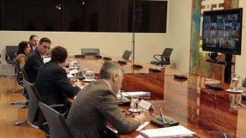 Sánchez anuncia a los presidentes autonómicos la prórroga del estado de alarma durante otros 15 días
