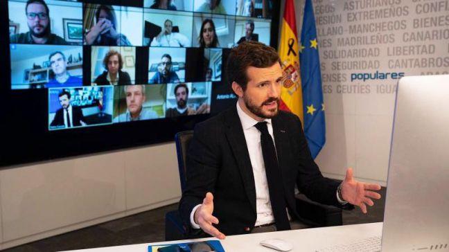 Casado exige a Sánchez actuar 'con eficacia y urgencia' tras el 'terrible' dato de muertos