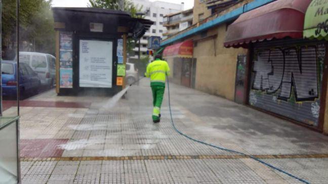Más de 4.000 actuaciones de desinfección en Móstoles durante la crisis del coronavirus