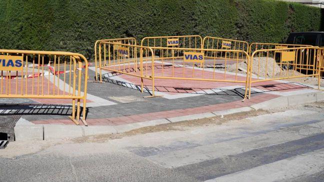 Móstoles habilita nuevas plataformas accesibles para facilitar la movilidad en la ciudad