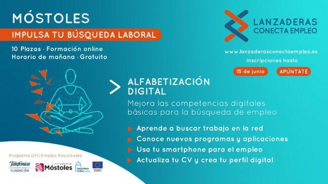 """Móstoles pondrá en marcha en junio el programa de """"Alfabetización Digital"""""""