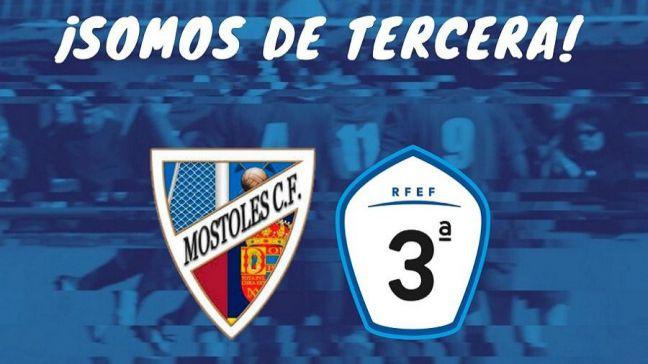 El Móstoles CF asciende a la Tercera División del fútbol nacional