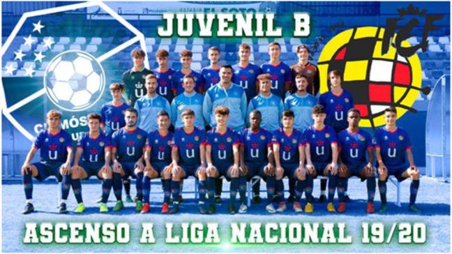 El Juvenil 'B' del CD Móstoles asciende a Liga Nacional
