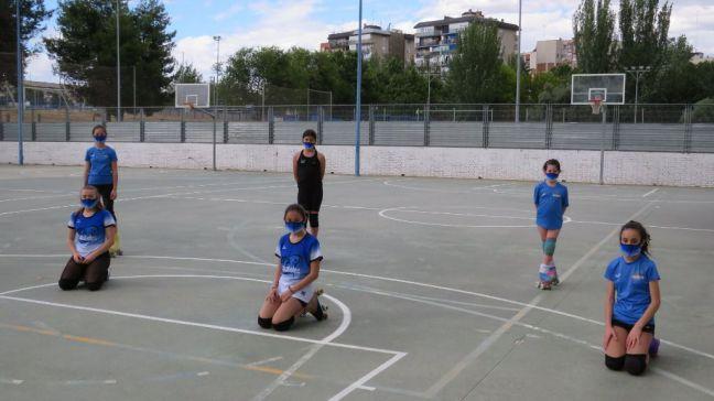 El Club de Patinaje Artístico de Móstoles vuelve a los entrenamientos