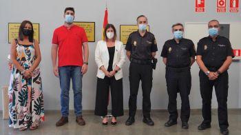 Noelia Posse agradece a la Policía Nacional su trabajo durante la crisis sanitaria