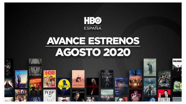 Avance de estrenos de agosto en HBO