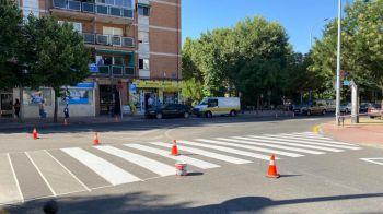 Medio millar de actuaciones de bacheo y 3.600 m² de calles pintadas en Móstoles