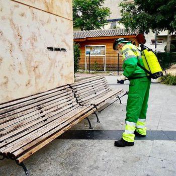 29.700 actuaciones de desinfección e higienización frente a la COVID-19