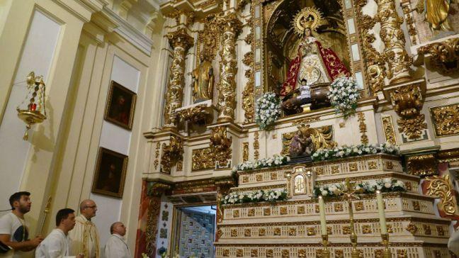 Móstoles celebra la misa en honor a su patrona que se emitirá en directo por Telemadrid