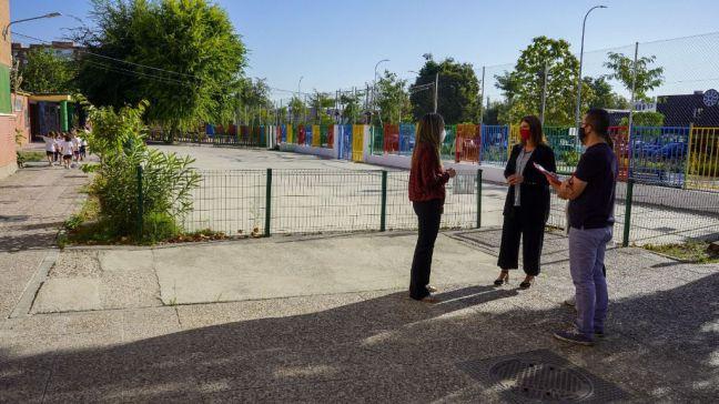 El tiempo obliga a Móstoles a cerrar los parques públicos