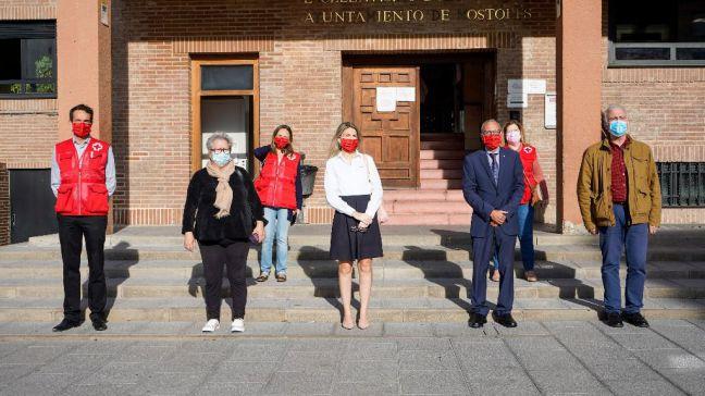 Móstoles celebra el Día de la Banderita de Cruz Roja