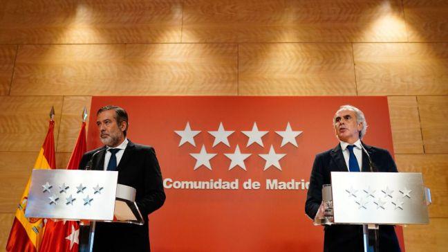 La Comunidad de Madrid pide medidas cautelares contra la Orden del Ministerio de Sanidad