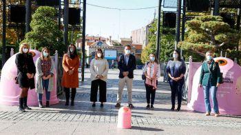 'Recicla vidrio por ellas' para luchar contra el cáncer de mama en Móstoles