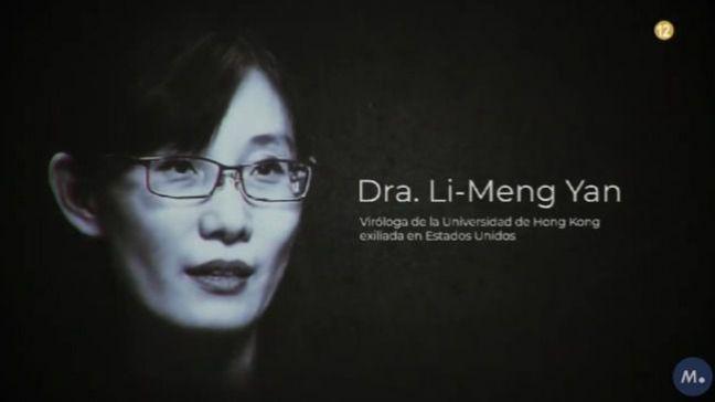 Primera aparición en una televisión europea de la viróloga china huida a EEUU