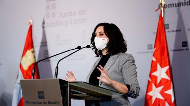 Ayuso plantea a Sánchez cerrar Madrid únicamente durante el puente de Todos los Santos
