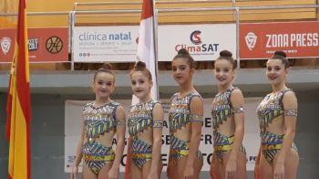 El Club Gimnasia Rítmica de Móstoles en el Campeonato de España Base de Conjuntos 2018