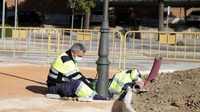Obras de mejora y acondicionamiento de las calles Granada y Benito Pérez Galdós