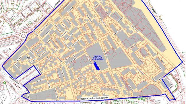 Hoy da comienzo el confinamiento del área básica de Barcelona en Móstoles