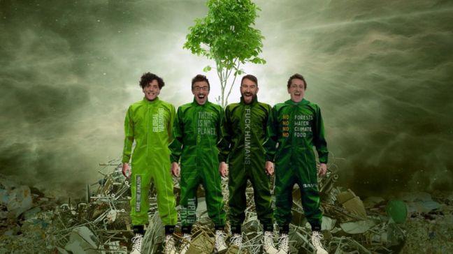 La Compañía teatral Yllana lleva su éxito 'Greenpiss' al Teatro del Bosque