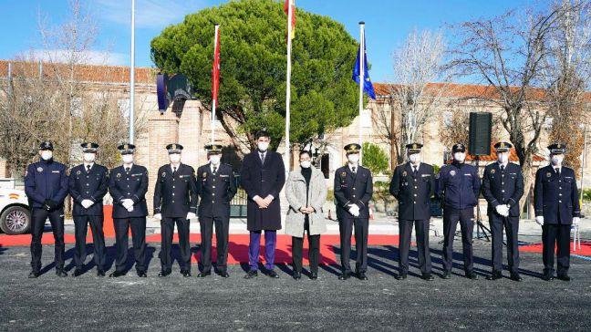 Móstoles recibe la Medalla de plata al Mérito de la Policía Local de la Comunidad de Madrid