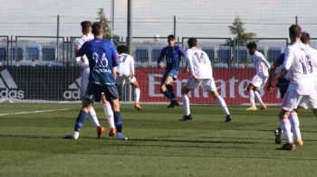 El CD Móstoles hace sufrir al Real Madrid Castilla