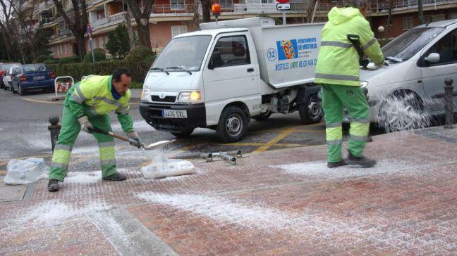 Móstoles intensifica el dispositivo del Plan de Inclemencias Invernales ante la previsión de nevadas