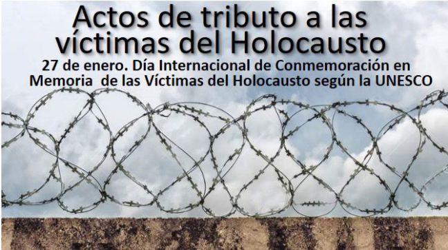 Móstoles se suma al tributo a las víctimas del Holocausto