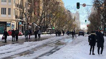 Info 'Filomena': Incidencias y respuestas frente a la ola de frío