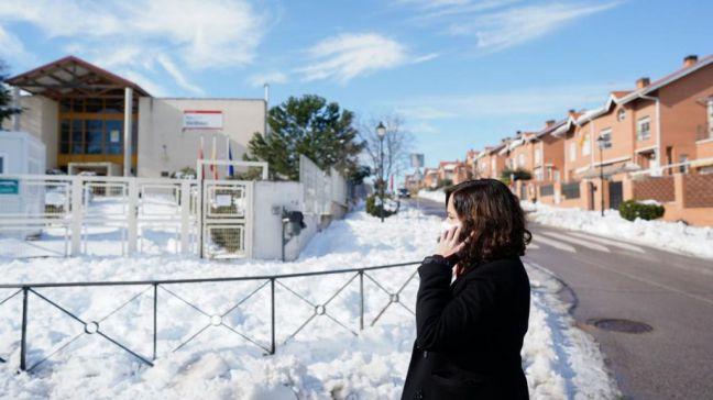 Ayuso solicitará al Gobierno declarar la Comunidad como zona de emergencia de protección civil