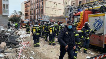 Una explosión en Madrid se cobra la vida de al menos dos personas y cientos de personas desalojadas