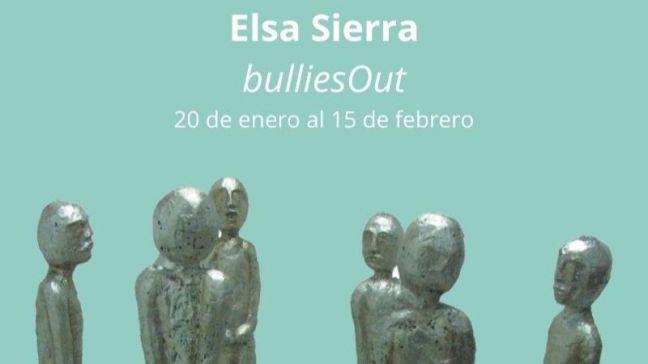 'BulliesOut', una exposición en Móstoles en la que se aborda el acoso escolar a través de la escultura