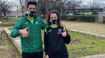 Dos atletas mostoleños en el Campeonato de Madrid de 3.000 metros en pista cubierta