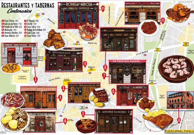 Restaurantes centenarios de la capital declarados espacios de interés turístico y cultural