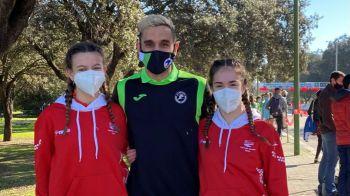 Dos atletas de Móstoles en el Campeonato de España de marcha por federaciones