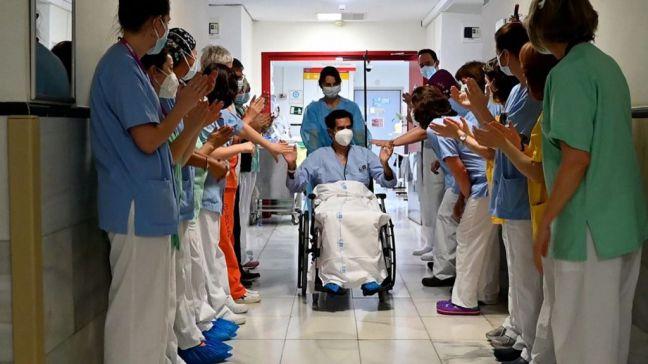 El Gregorio Marañón da el alta a su paciente 5.000 ingresado por Covid-19