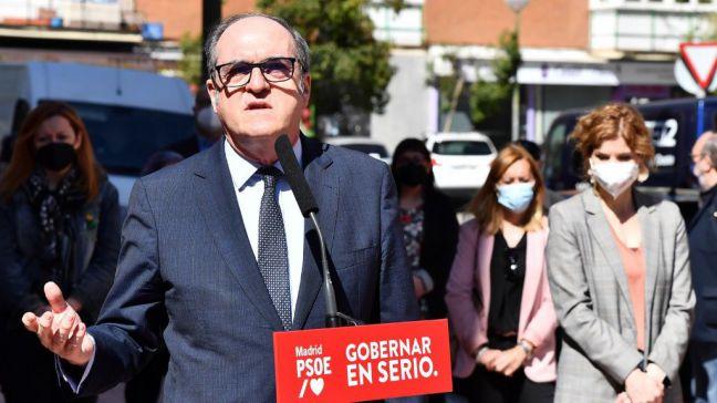 Gabilondo denuncia en su visita a Móstoles el sistema de vacunación