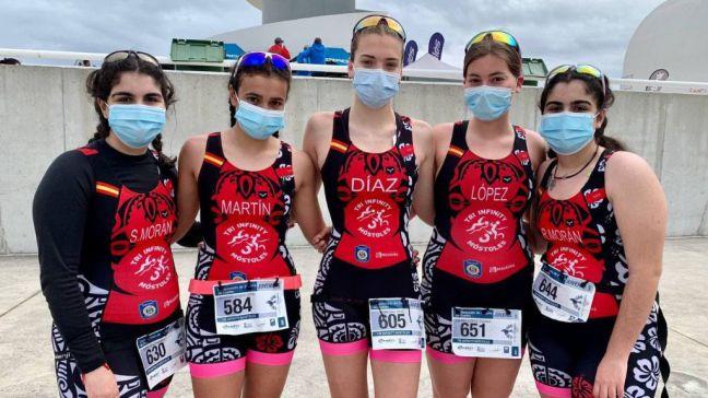 La Escuela del Club Tri Infinity Móstoles en el Campeonato de España de Duatlón Sprint